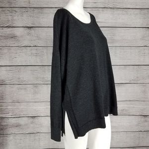 ATHLETA Oversized Pullover Sweater Ribbed Knit S